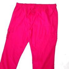 Pantalon de Femmes Rose Loisir en Tissu D'Été Grandes Tailles Gr. 50 - 54