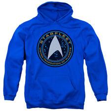 Star Trek Beyond Starfleet Patch Mens Pullover Hoodie Royal Blue