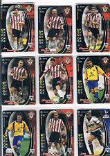 WIZARDS PREMIER LEAGUE 2001-02 PREMIER LEAGUE TRADING CARD EX COND NOS 105-212