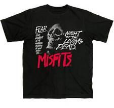 MISFITS - Fear - T SHIRT S-M-L-XL-2XL Brand New Official T Shirt