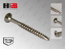 Edelstahl Spanplattenschrauben Senkkopf mit Bohrspitze A2 / V2A /Steinless Steel