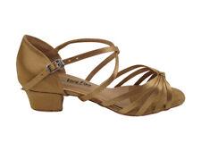 Women/'s West Coast Swing Salsa Ballroom Dance Shoes low Heel 1.3 Very Fine 6005