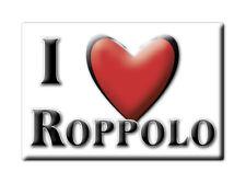 CALAMITA PIEMONTE ITALIA FRIDGE MAGNET MAGNETE SOUVENIR I LOVE ROPPOLO (BI)