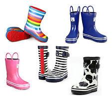 Girls / Boys Evercreatures Little Creatures Wellies Wellington Boots - UK 6 -2