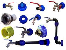 IBC Adapter mit Auslaufhahn Kugelhahn mit Geka Easyklick oder mit Schlauchtülle