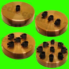 Simple & Multi Point prise (cuivre) plafonnier rose 1-9 gouttes CORDON PRISE