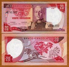 Angola, 20 Escudos, 1972, P-99, UNC
