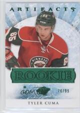 2012-13 Upper Deck Artifacts Emerald #178 Tyler Cuma Minnesota Wild Hockey Card