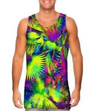Yizzam- Neon Palm Jungle - New Men Tank Top Tee Shirt XS S M L XL 2XL 3XL 4XL