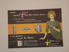 advertising Pubblicità 1959 ALFRA ALESSI FRATELLI