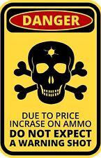 FUNNY cartello di avvertimento pericolo non ci aspettiamo un segnale di avvertimento Adesivo Autoadesivo