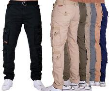 früchtl Pantalones De Hombre Informal Pantalón Cargo Ejército trabajo
