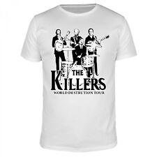 The Killers - World Destruction Tour Krieg Fun Organic T-Shirt Herren