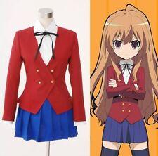 TIGER×DRAGON Aisaka Taiga Toradora Gal Uniform Cosplay Costume Custom