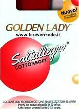 Collant bambina Golden Lady Saltallegro con morbido cotone art Cotton Soft