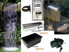 Powerfall 900 Wasserfall-Set 90cm Fallhöhe bis ca. 1,00m inkl. Pumpe u. opt. LED