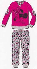 Pyjamas Bimba. Manches longues + PANTALOON. Chaud coton. DISNEY, MINNIE. WD22701