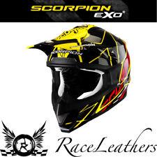 Venta Scorpion vx15 Sprint Negro Amarillo Mx Motocross Moto Moto Casco