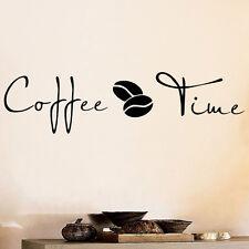 Wall sticker adesivo Coffee Time decorazione adesiva parete caffetteria caffè