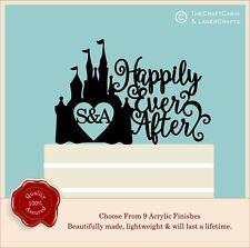 Cinderella Castle Cake Topper, Fairytale Princess Personalised Wedding Disney