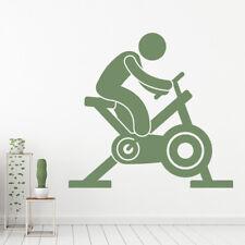 Rower treningowy Athletics Fitness Naklejka Na ścianę WS-17911
