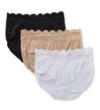 6a3606de82ff0 Olga 913J3 Secret Hug Scoop Hipster Panty - 3 Pack