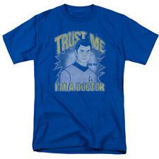 Star Trek The Original SciFi TV Series Bones Trust Me Im A Doctor Adult T-Shirt
