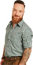 Freizeithemd Wanderhemd Trachtenhemd Hemd FUCHS  Oktoberfest tanne weiss