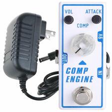 Tone City T13 Comp Engine + TPS-2 Power Compressor Guitar Effect Pedal New