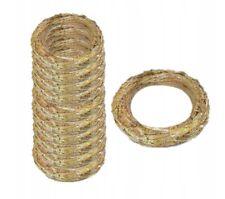 45 x 8 cm groß Rohling Rohlinge Stroh Kranz Ring Strohkranz Strohrömer natur
