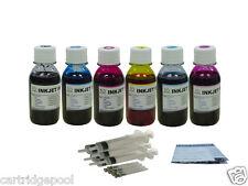 Refill Ink kit for HP 02 C7280 C8180 D7145 3310  24oz
