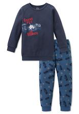 Schiesser Pijama Chico Coche de Carreras Largo 104 116 128 140 Ropa Dormir