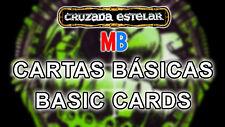 Multi-Anuncio Cartas Básicas de Cruzada Estelar / Space Crusade's Basic Cards MB
