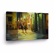 Modern Oil Painting on Canvas Print Wall Decor Art Framed %100 Handmade OPH29