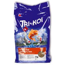 Tri Koi® VITAL 5 -20 kg / 4,5 mm Koi Sink Fisch Futter Teich über 6°C Wassertemp