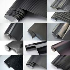 6,38€/m² Auto-Folie SCHWARZ 3D 4D 5D Carbon Folie GLANZ MATT Folie meterware 152