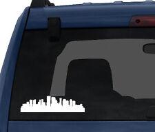 American City Skyline - New Orleans Louisiana Silhouette- Car Tablet Vinyl Decal