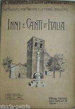 IRREDENTISMO_TRENTO_TRIESTE_INNI E CANTI D'ITALIA_GARIBALDI_MAMELI_MARCIA REALE