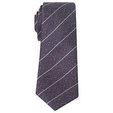 Penguin Silk Purple / Navy Stripe Tie