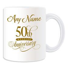 REGALO personalizzato cinquantesimo anniversario TAZZA SALVADANAIO COPPA DI MATRIMONIO, onorevole collega giusto AMORE