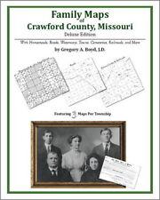 Family Maps Crawford County Missouri Genealogy MO Plat