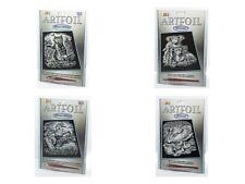 Scraper Foil A4 Engraving Art - Silver Edition