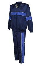 Herren Glanzender Jogginganzug, Sportanzug, Traininganzug in Blau, Cobalt Btt28