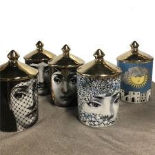 Vintage Fornasetti 13 Designs Candle Holders Storage Home Designer Decorative