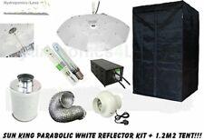 Sun King Grow Room Parabolic Complete Tent 1.2m Kit Fan Carbon Filter Lumii