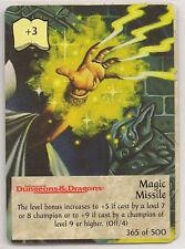 Spellfire 4th Edition Card M/NM 365/500 Magic Missile