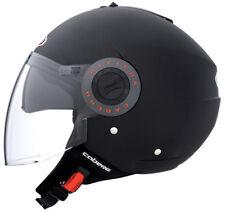 Caberg Riviera V2+ Open Face DVS Motorbike Motorcycle Helmet Matt Black