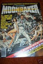 MOONRAKER  Magazine 1979  Unused**  Original  JamesBOND