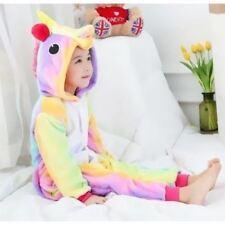 enfants LICORNE ARC EN CIEL KIGURUMI ANIMAL Cosplay Costume onesie11 pyjamas