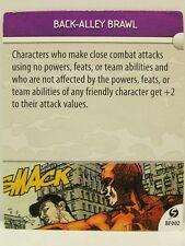 HeroClix Sinister - BF-002 BACK-ALLEY BRAWL
